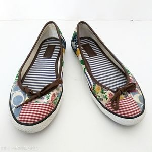 Coach Marie Patchwork slip ons